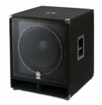 Yamaha SW118V 1,200W Club Series V Subwoofer