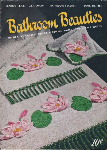 Clark's J&P Coats Book No.265 Bathroom Beauties 1950