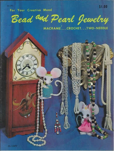 Bead And Pearl Jewelry 1971