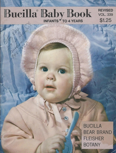 Vintage Bucilla #339 Revised Baby Book