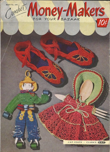 Crochet Money Makers For Your Bazaar 1951