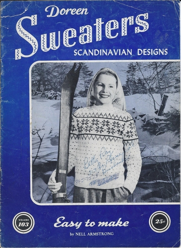 Vintage Doreen Sweaters Scandinavian Knitting Designs
