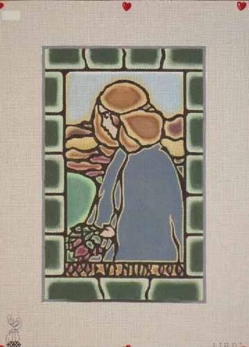 Eventide Hand Painted Needlepoint Canvas By Isabel's