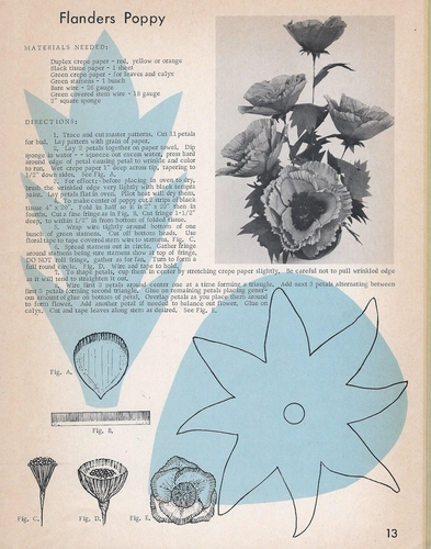 Exotic Paper Flowers 1967