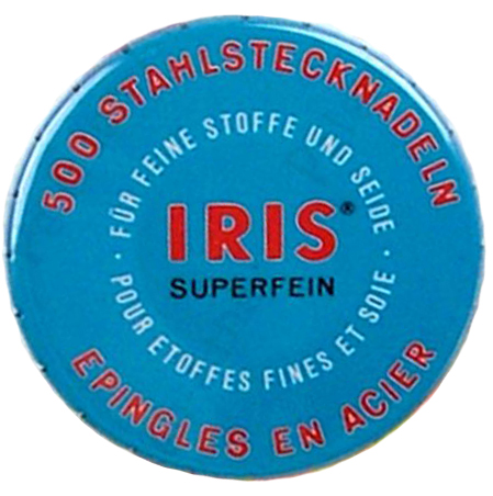 *BACK IN STOCK* Iris Superfine Silk Pins