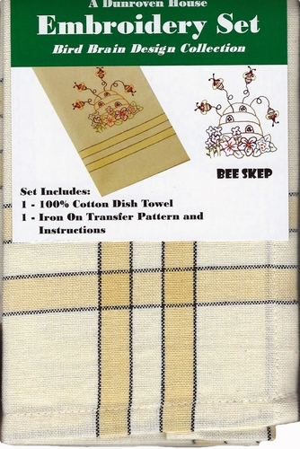"Dunroven House ""Bee Skep"" Embroidery Set"