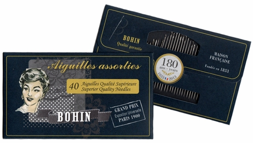 Black Bohin Needle Assortment