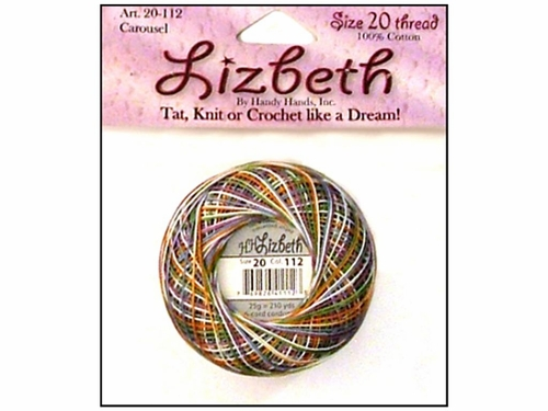 Happy Hands Lizbeth Tatting Thread - Carousel