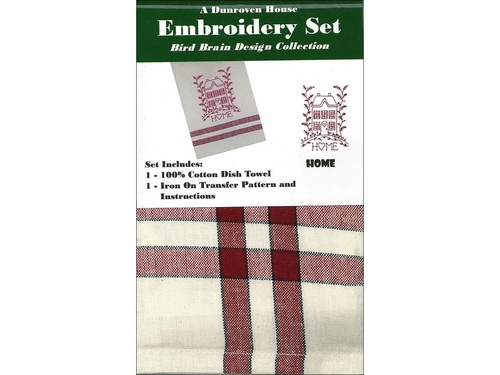 """Dunroven House  """"Home"""" Embroidery Set"""