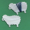 "Mother Of Pearl ""Ewe"" Thread Winders"