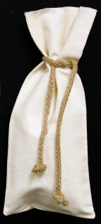 Natural Wine Bag To Embroider