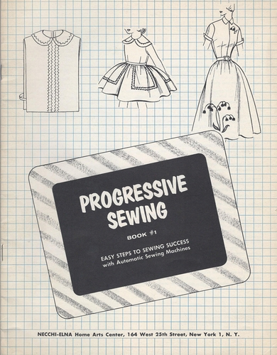 Progresssive Sewing Book #1
