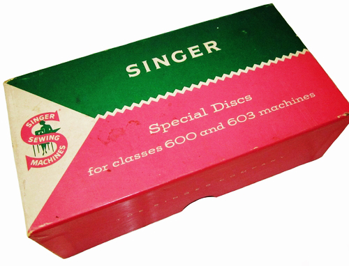 "Vintage Singer ""Special Discs"" For Classes 600 & 603 Machines"