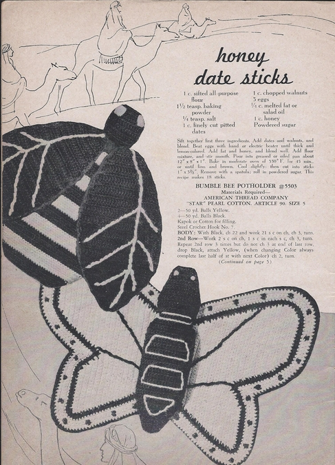 Star Potholders 1947