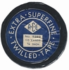 Vintage Trim - Extra Superfine Black Twilled Tape