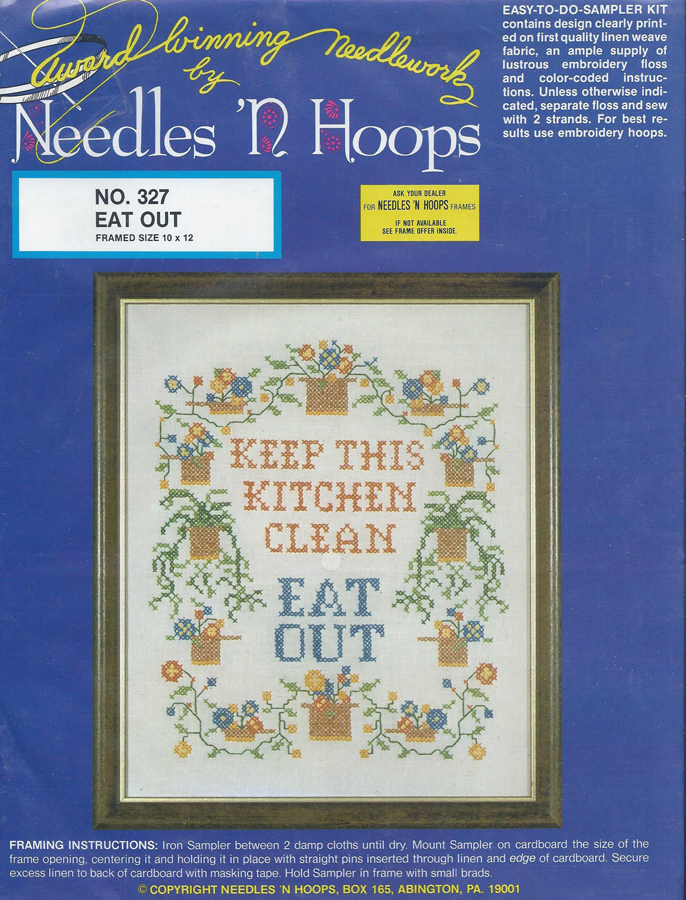 Probably, were Vintage cross stitch samplers lie