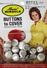 Vintage Maxaint Buttons To Cover 12 Pack
