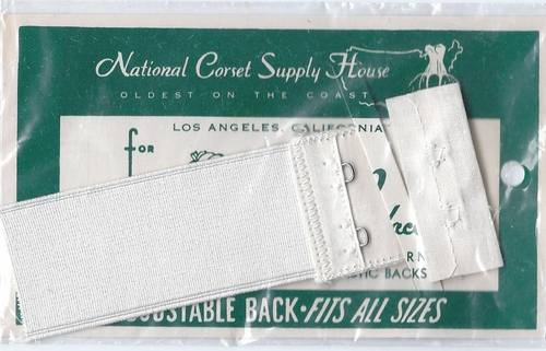 Vintage National Corset Supply Bra Back Repair