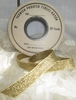 Vintage Trim - Rayon/Tinsel Ribbon By The Yard