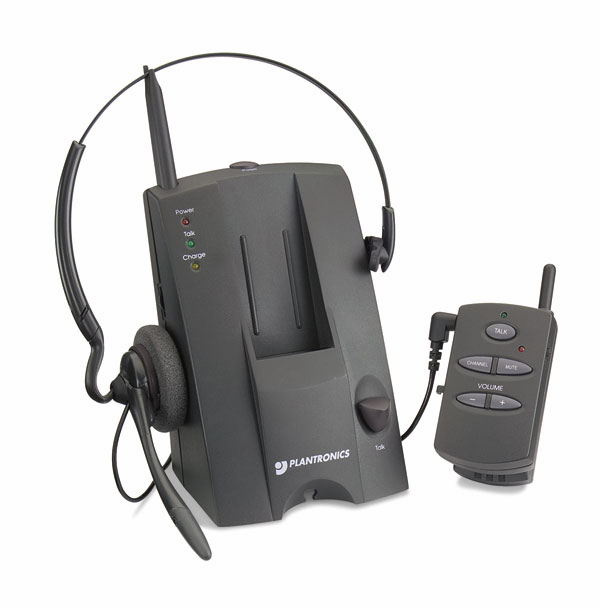 Plantronics CS10 Cordless Headset & Amplifier