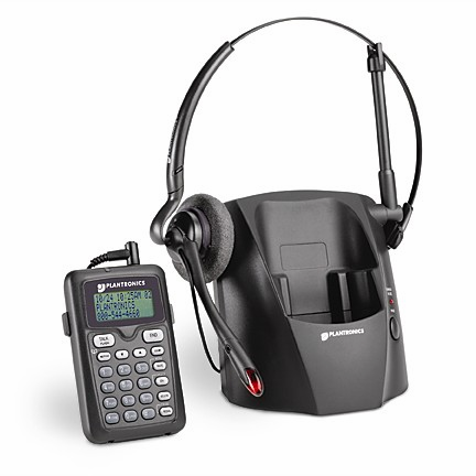 Plantronics CT12 2.4Ghz DSS Cordless Headset Telephone