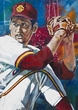 Bill Bordley - University of Southern California autographed fine art print signed by Bordley