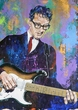 Buddy Holly original painting featuring Buddy Holly by Robert Hurst