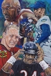 Chi-Town Champs: Chicago Sports Greats original painting by Robert Hurst