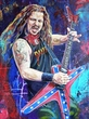 Dimebag Darrell original painting by Robert Hurst