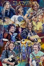 Eagles, the Band fine art print with limited edition canvas giclee option