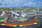 Fast Track (Austin F1 Track: Circuit of the America AKA COTA) limited edition giclee