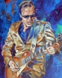 Joe Bonamassa original painting by Robert Hurst