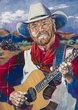 Michael Martin Murphey autographed limited edition fine art print signed by Murphey