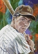 Rick Monday - Arizona State autographed fine art print signed by Monday