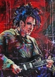 Robert Smith The Cure original painting featuring Robert Smith of The Cure by Robert Hurst