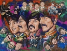 The Beatles - A Day in Our Lives limited edition canvas giclee