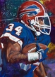 Thurman Thomas autographed limited edition fine art print signed by Thomas