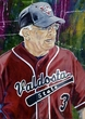 Tommy Thomas - Valdosta State autographed fine art print signed by Thomas