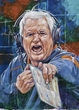 Wade Phillips autographed limited edition fine art print signed by Phillips