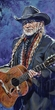 Willie Nelson All Suited Up original painting featuring Willie Nelson by Robert Hurst