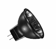 Ushio 1003349 - Light Bulbs Lamps 20MR11/FL36/B/FG Black