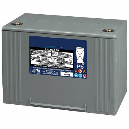 MK Battery 31HR5000 - 12 Volt 134 Amp Hour 475 Watts/Cell 15 Min 97 Lb