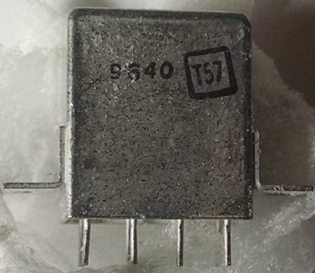 Genicom 3SAF1803A2 - relay electromagnetic