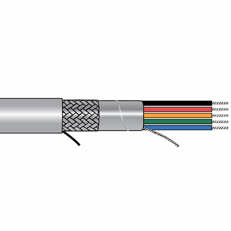 Alpha Wire 5118C SL005 - Cable 5118C Slate 100 Ft