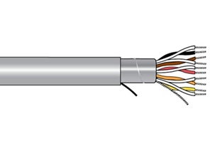 Alpha Wire 5494C SL001 - Cable 5494C Slate 1000 Ft