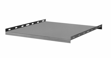 """Bud Industries 60-2381 - 19 inch Rack Shelves-60 series-Accessories 19"""" Non-Ventilated Stationary Shelves-L23 X W18 X D1"""