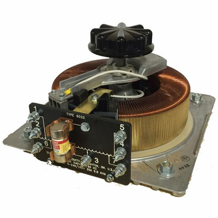 Staco 6020-2D - Three, Open Delta Variac Variable Transformer up to 120 Volts In, 0-280 Volts Out