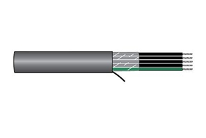 Alpha Wire 85003CY BK001 - Cable 85003Cy Black 1000Ft