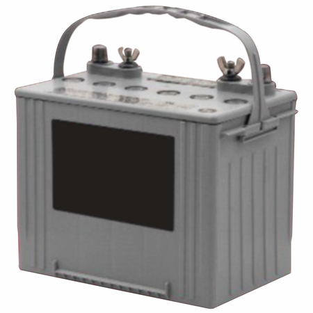 """MK Battery 8G24 1/4""""x20 Insert C - 12 Volts 73.6 Amp Hours/20 Hours"""