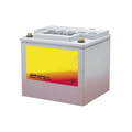"""MK Battery 8G40 (1/4""""x20 Insert) (C) - 12 Volts 40 Amp Hours/20 Hours"""